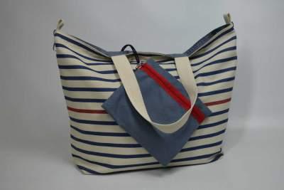 Beachbag de la colección Atlántico