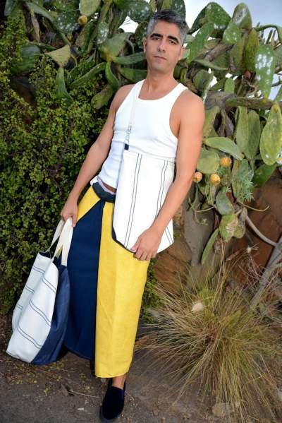 Beachbagy sarong de la serie Canary Beach