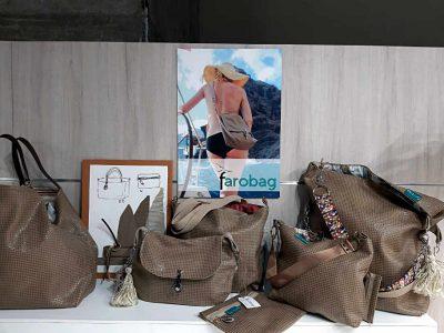 Bolsos del tela de la serie Arena del Desierto de Farobag en MOMAD