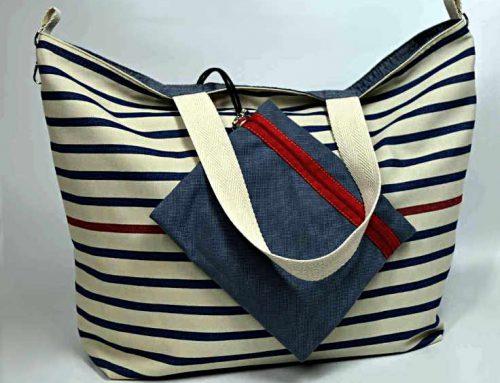 Beachbag Citybag y Travelbag – 3 bolsos de tela grandes