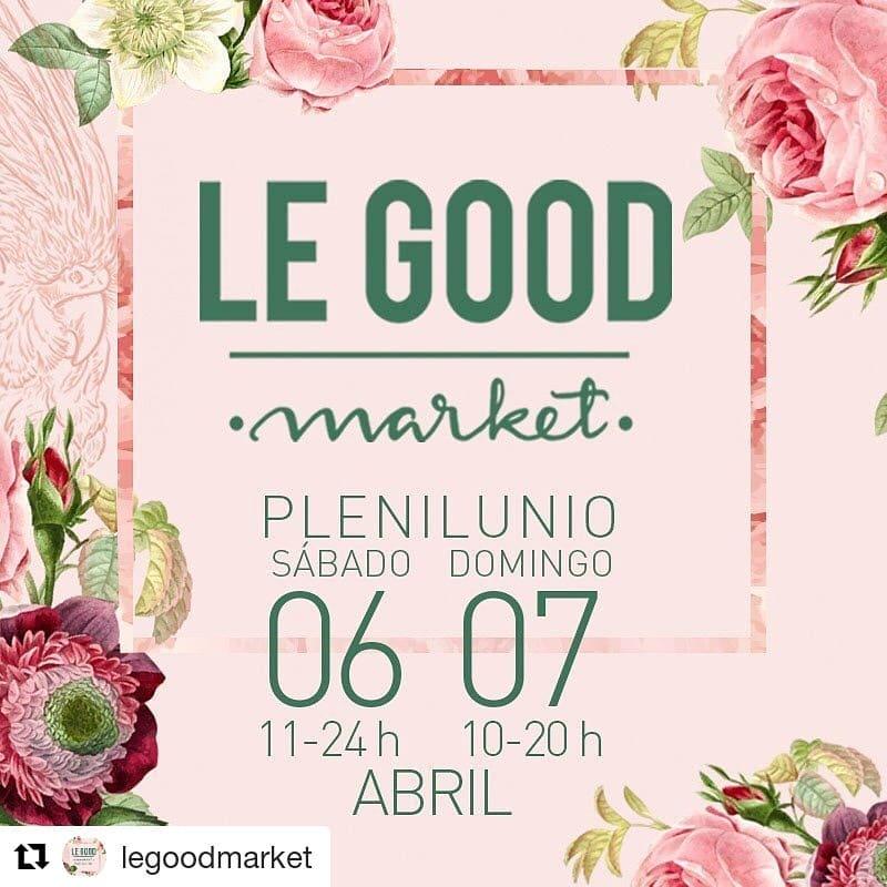 Anuncio del mercadillo Le Good Market