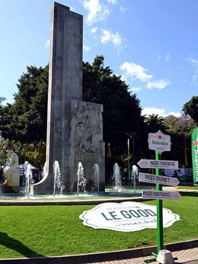 Fuente central del parque García Sanabria de Santa Cruz de Tenerife