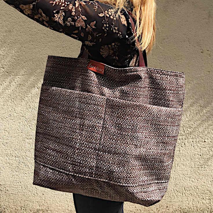 modelo con citybag