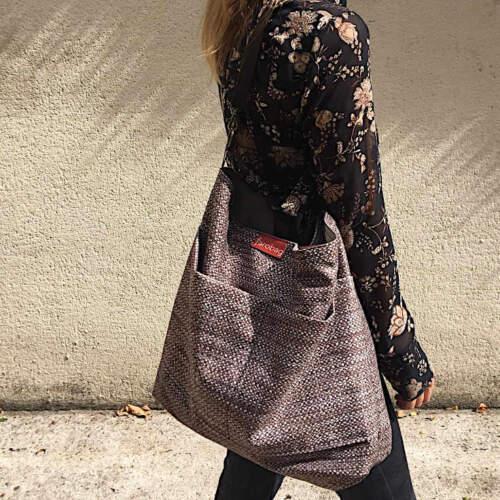 modelo con citybag 2 bolsillos