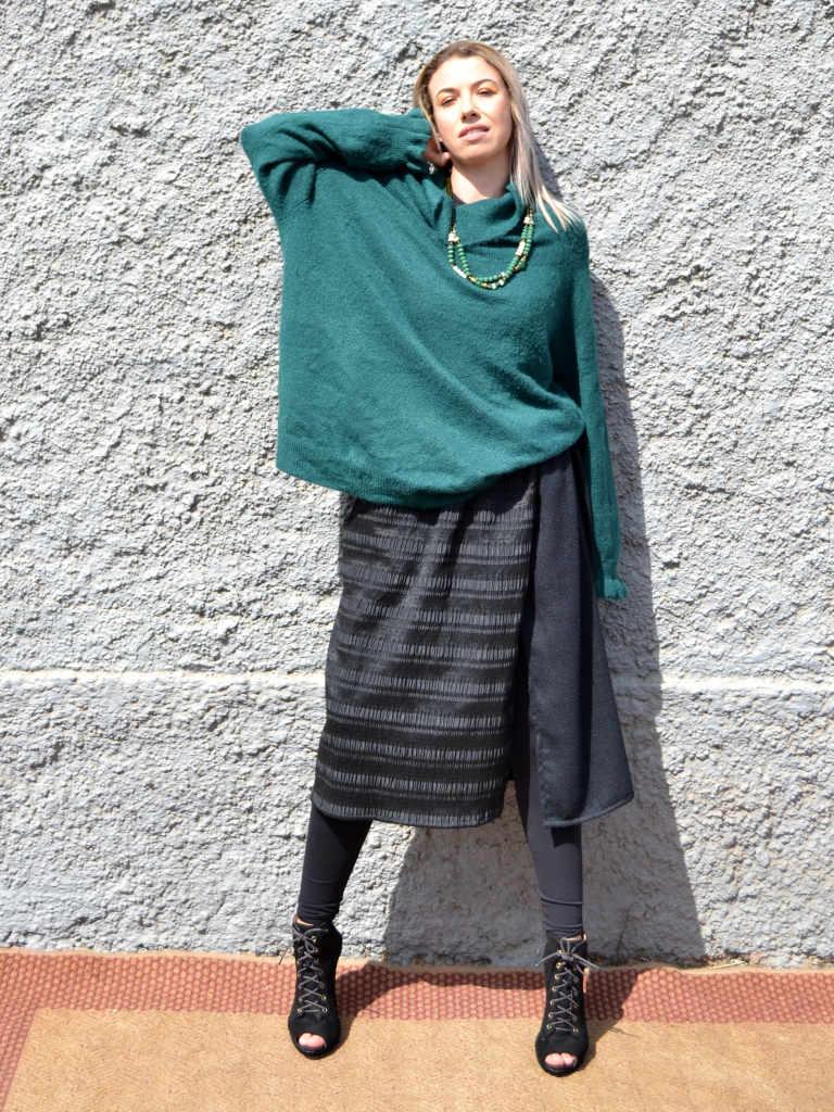 Falda-capa