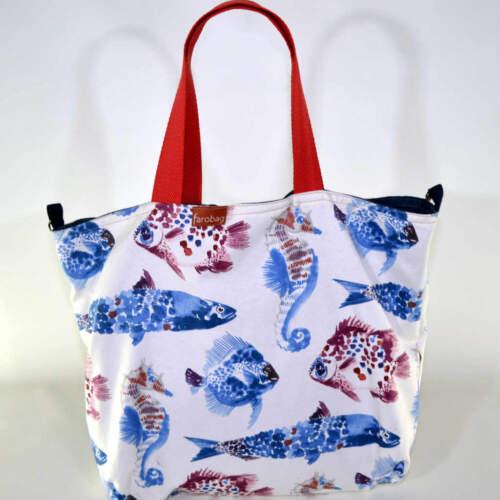 Beach Bag de la serie Alba de la colección de verano 2021 de la marca Farobag