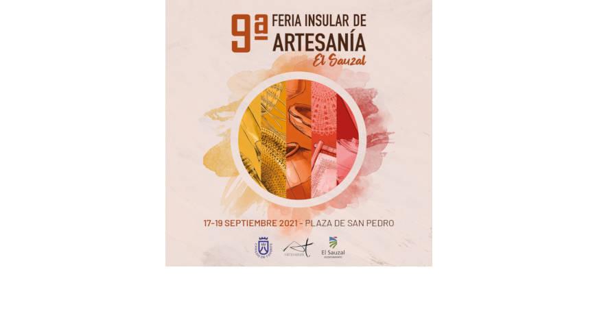 cartel de la feria de artesanía de el sauzal 2021